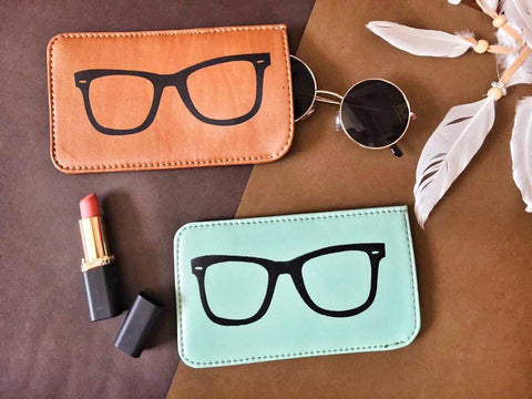 Sunglass Cover - Tan