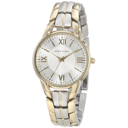 Anne Klein Womens 10 9815SVTT Two Tone Bracelet Watch