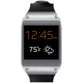 Samsung Galaxy Gear Smartwatch Retail Packaging Jet Black