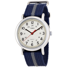 Timex Unisex Weekender Watch With Pattern Band