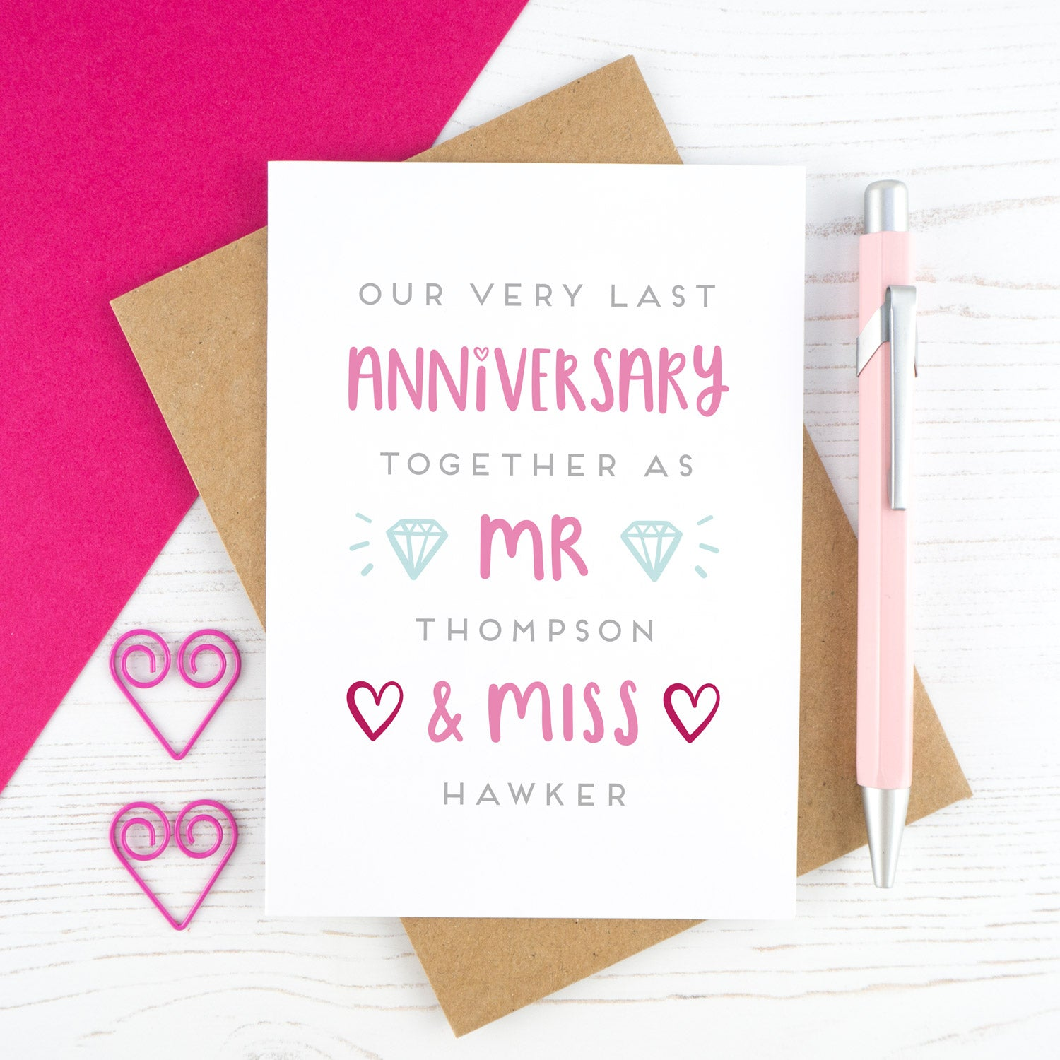 What to write in an Anniversary card – Joanne Hawker Pertaining To Anniversary Card Template Word