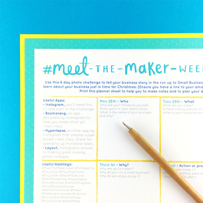 #MeetTheMakerWeek - Everything You Need To Know