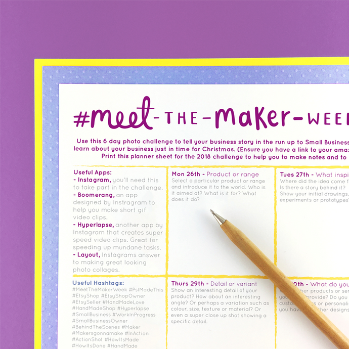 #MeetTheMakerWeek 2018 is Here!