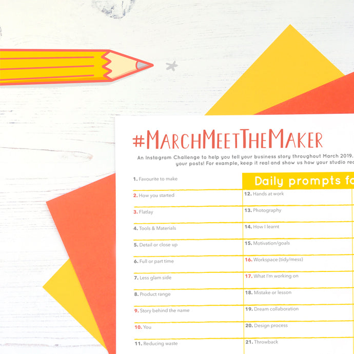 #MarchMeetTheMaker - The Prompts!