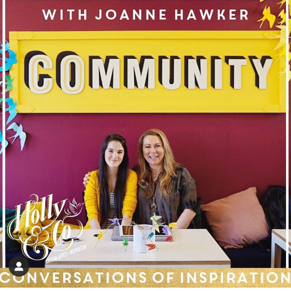 Joanne Hawker 2019 - Holly Tucker Podcast Conversations of Inspiration