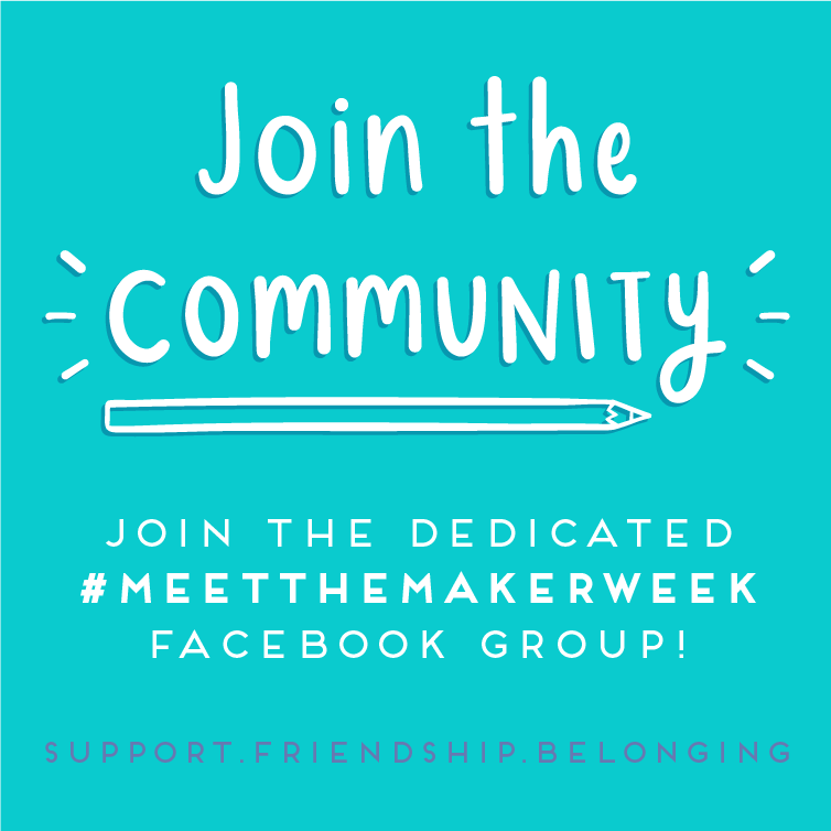 Join the maker community over on facebook!