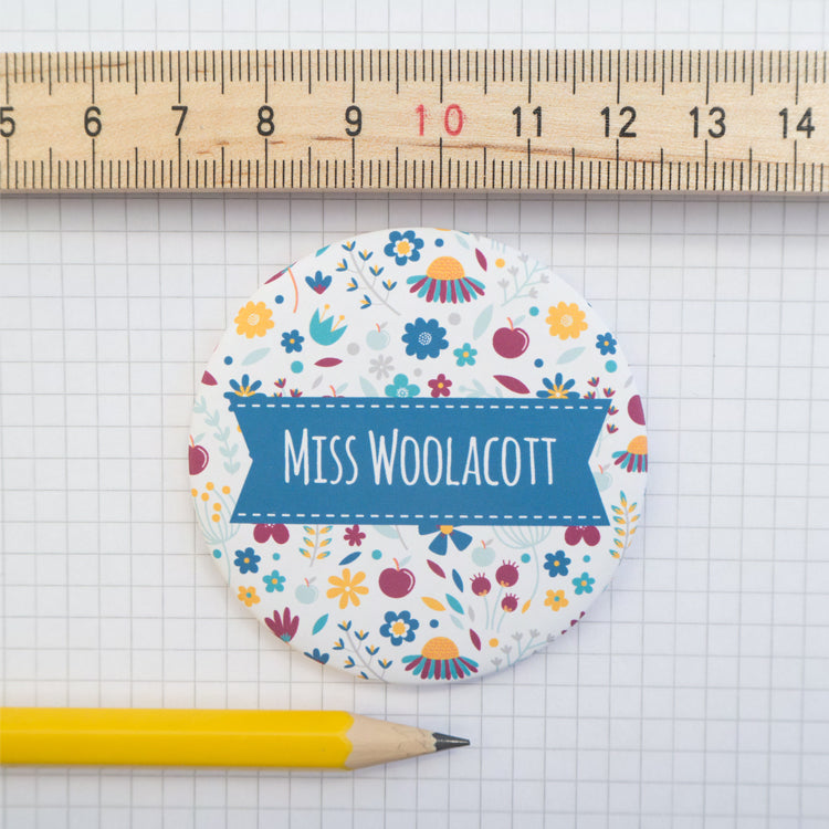 Personalised teacher gift by Joanne Hawker