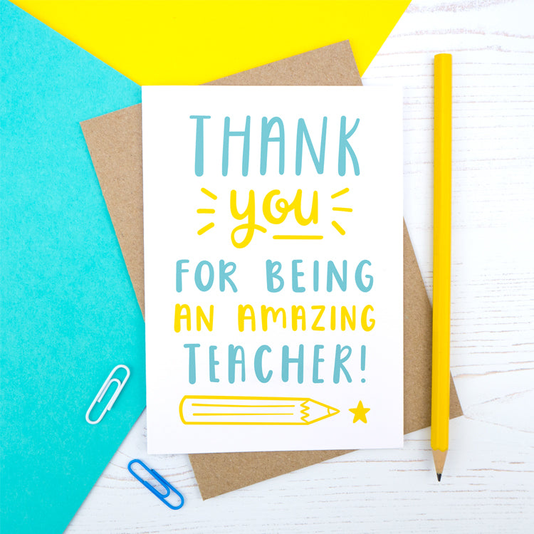 Amazing teacher card by joanne hawker