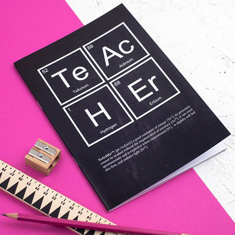 Teacher Chalk Notebook by Newton and the Apple