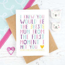 The 'Best Mum' Card
