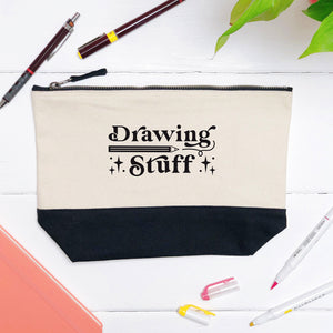 Drawing Stuff Storage Pouch