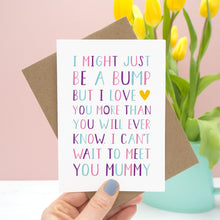 Load image into Gallery viewer, From 'The Bump' Mummy Card