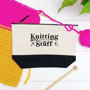 Knitting Stuff Storage Pouch