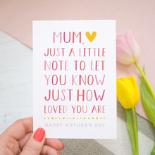 You Are Loved Mother's Day Card