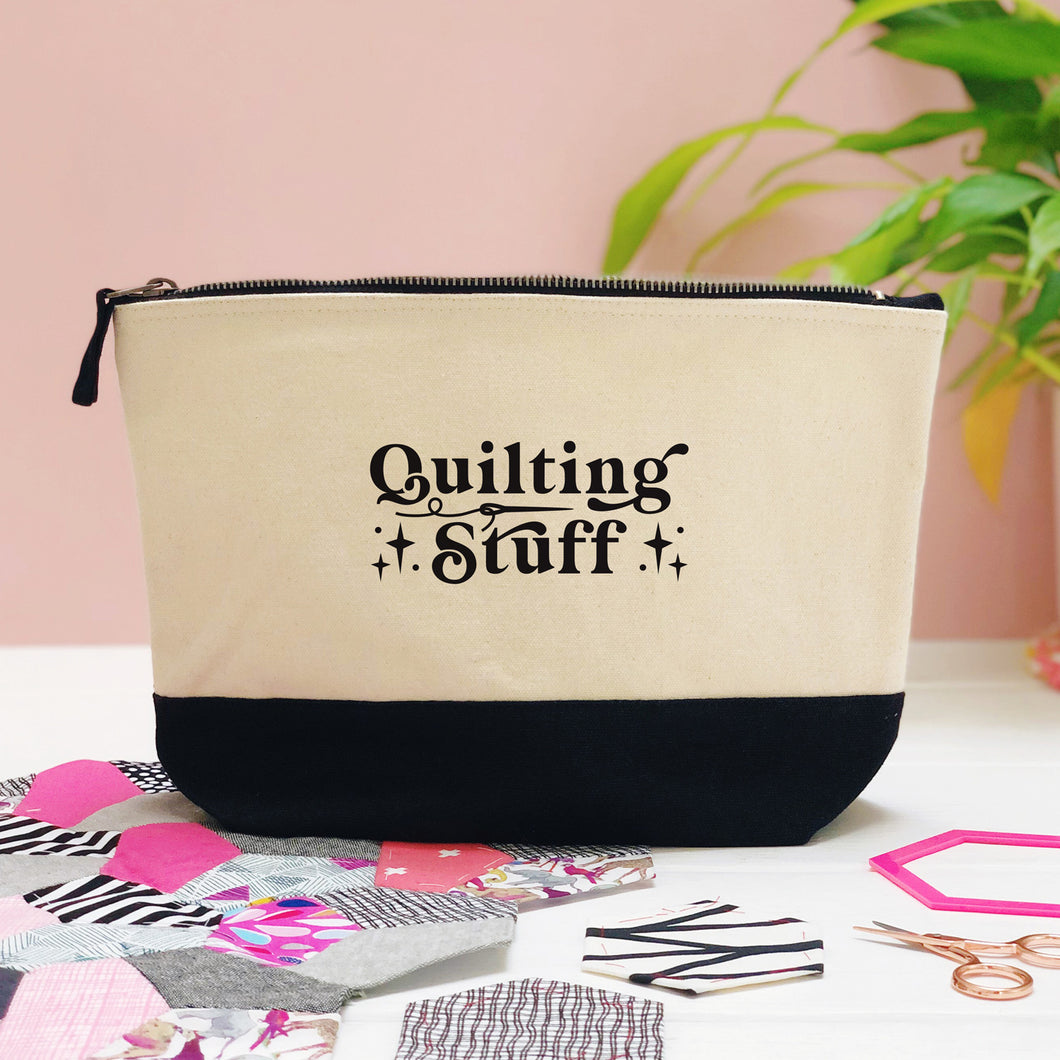 Quilting Stuff Storage Pouch