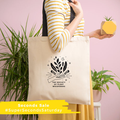 Seconds - Society of Plant Whisperers Tote Bag