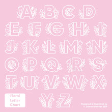 The A to Z of initials to choose from!