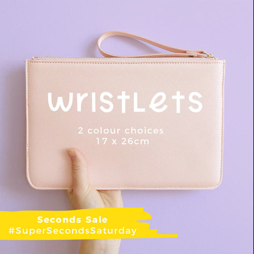 Seconds Initial Wristlet