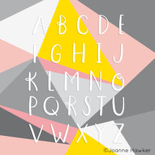 Choice of letters for the monogram initial pocket mirrors.