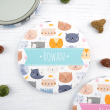 Personalised Cat pocket mirror for the crazy cat lady