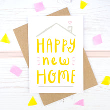 Load image into Gallery viewer, Happy new home card
