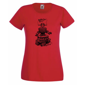 Tee-Shirt Femme Dusty Robot-Dust Garage