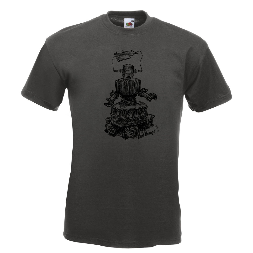 Tee-Shirt Homme Dusty Robot-Dust Garage