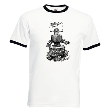 Tee-Shirt Homme Contraste Dusty Robot-Dust Garage