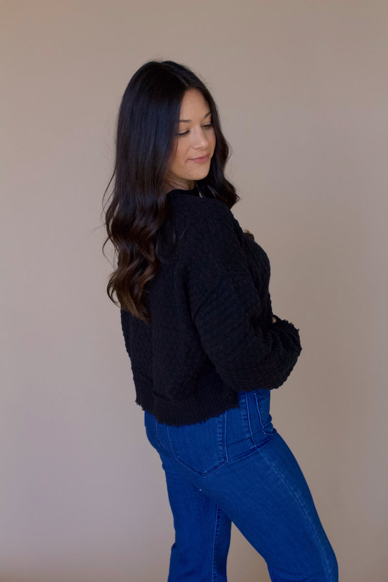 Josie Sweater- Black