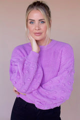 Live Your Life Sweater- Lavender