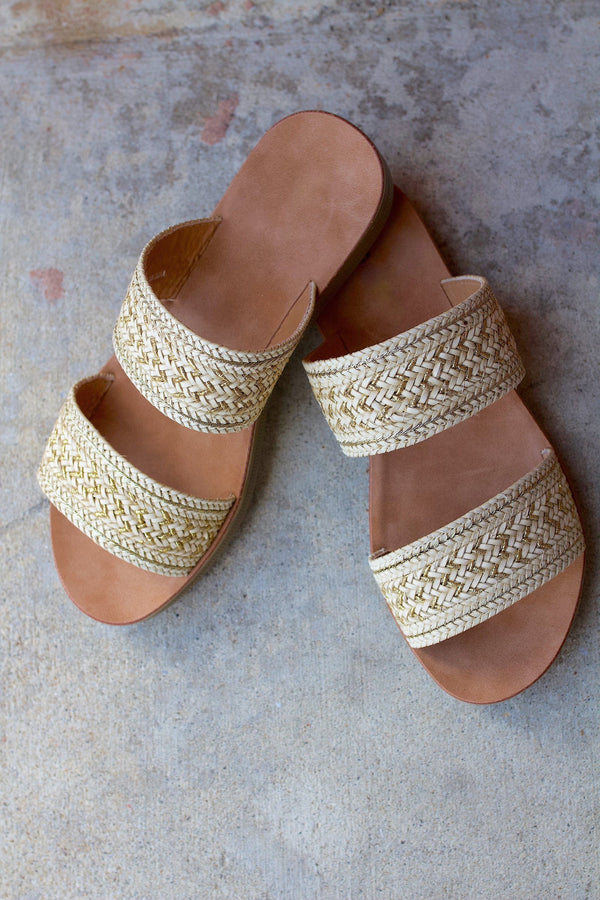 Summer Days Sandals- Beige