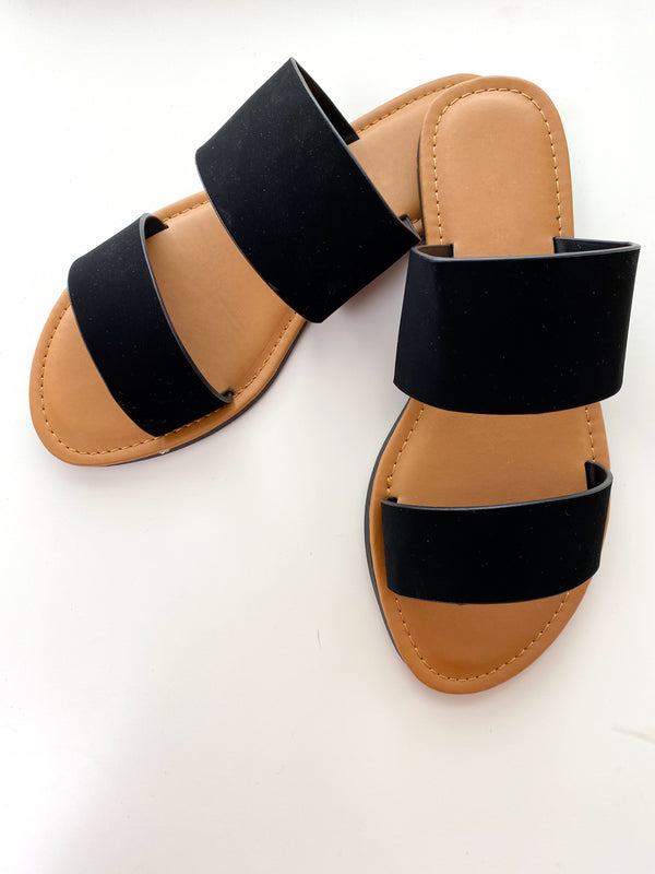 Savage Sandals- Black