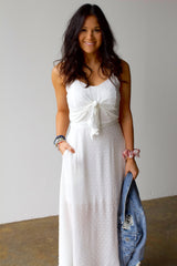 Eternity Midi Dress- Off White