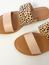 Stand Out Sandals- Cheetah/Blush