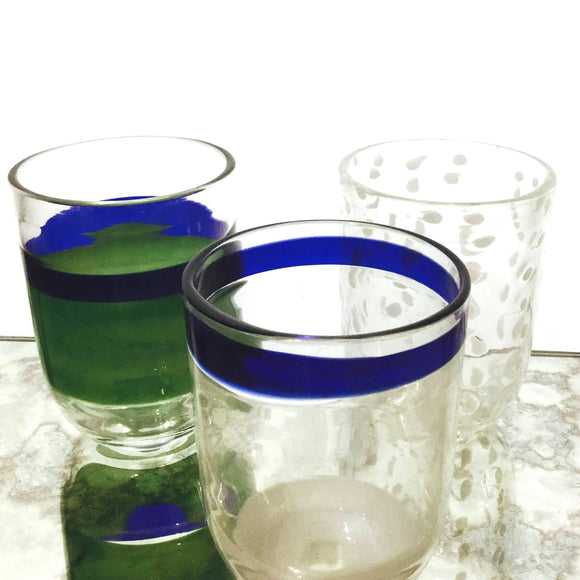 Home decor Ideas with just a  drinking glass. Glass Tumbler that are not only functional but decorative  as well