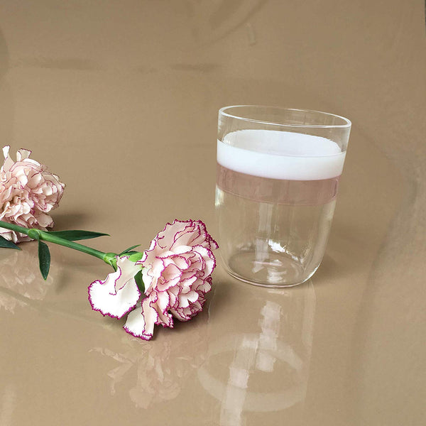 Handmade Scandinavian Tumbler Glass Set of 4 by RUSTIC HORSE - Factoh