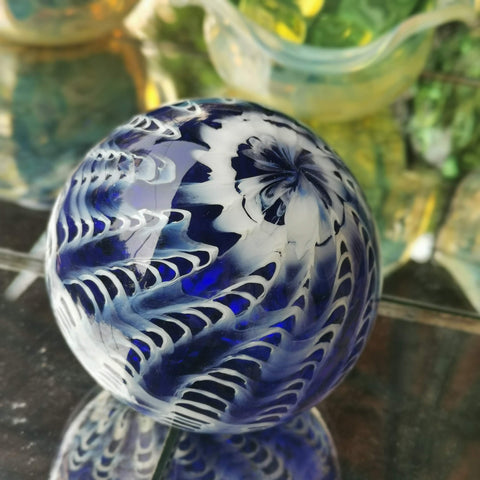 Art Glass Hand Blown Sphere