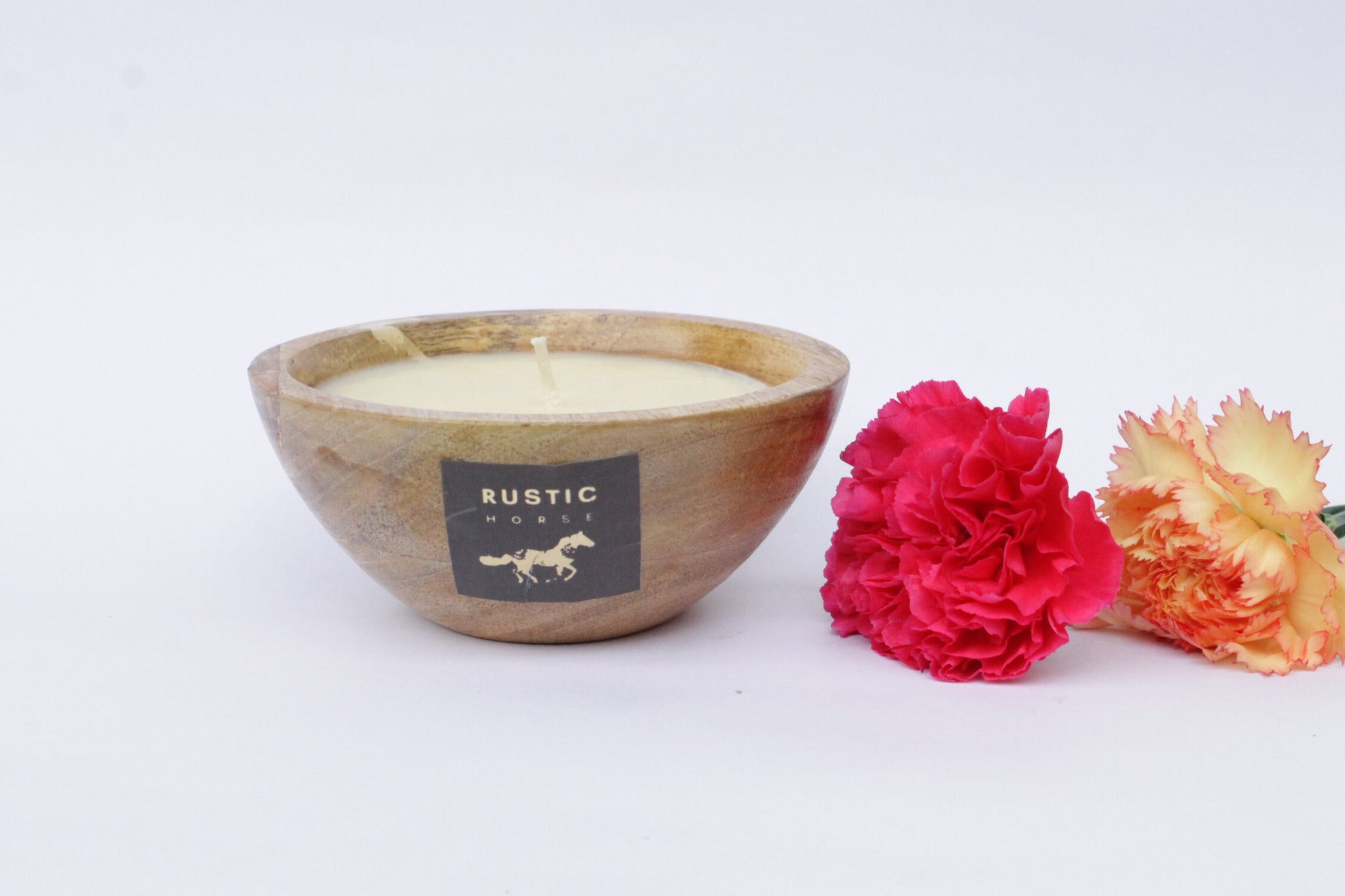 Rustic Horse Candles Spa candle aromatherapy stress relief soy Votive wax scented candle| Scented Candles for Bedroom| Long Lasting Aroma with the Finest Wax Blend - Factoh