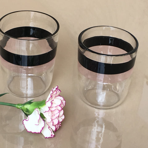 Handmade  Tumbler Glass Set of 4 by RUSTIC HORSE - Factoh