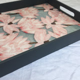 Floral Classic Gift Tray/ Serving Tray/ Valley of Flower Tray Home decor Tray - Factoh