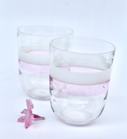 Handmade Scandinavian Tumbler Glasses - Factoh