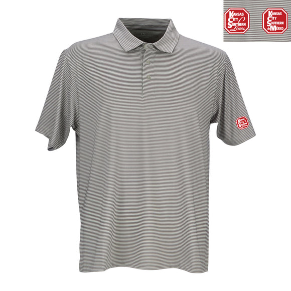 Men's Micro-Stripe Polo