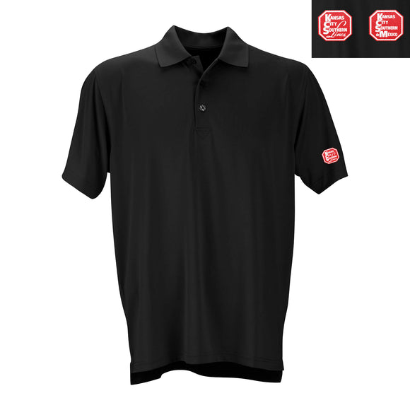 Men's Solid Mesh Tech Polo