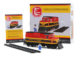 Custom Kansas City Southern Building Block Train Set