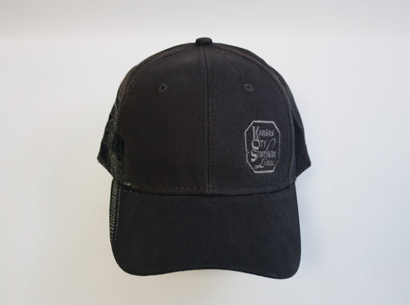 Train Yard Embroidered Baseball Cap