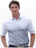 Greg Norman Play Dry Stripe Polo