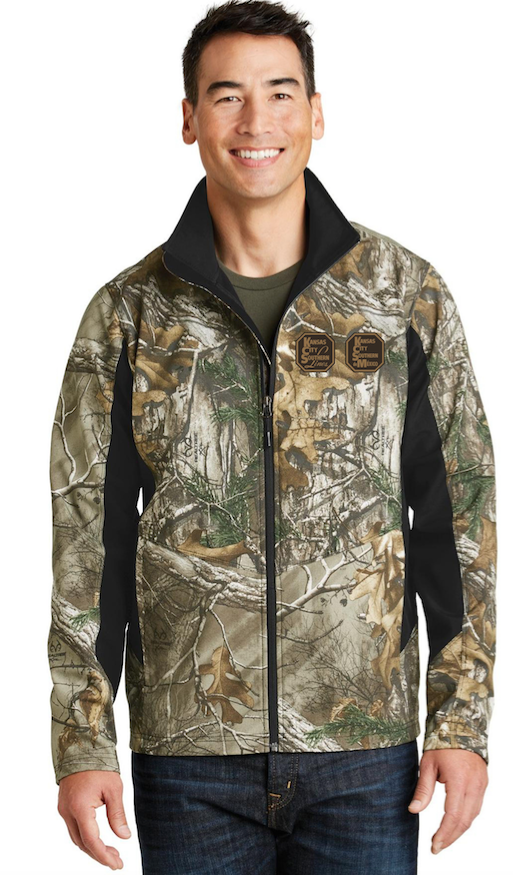 Men's Camo Soft Shell