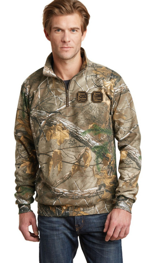 Men's Camo Russell Pullover