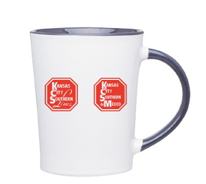 Red and White Mug
