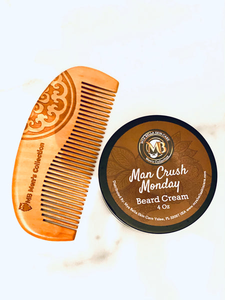 MB Men's Collection Beard Cream-Featuring our newest scent MAN CRUSH MONDAY.